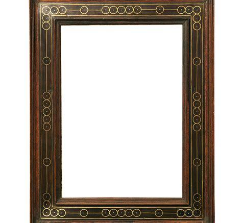 antike rahmen plate frame with brass ornaments antike rahmen