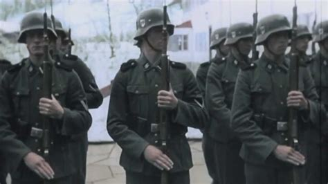 third reich color pictures waffen ss in color waffen ss tribute journey to the line youtube