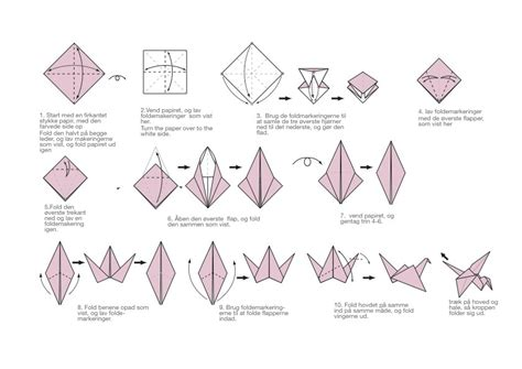 How To Do A Origami Crane - origami origamiginga