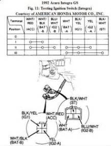 Acura Ignition Switch Recall 1992 Acura Integra Ignition Switch Problem Electrical