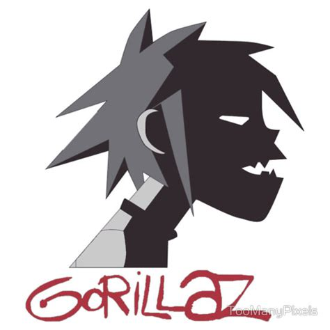 Glow In The Dark Wall Sticker gorillaz tee shirt stickers our funny t shirt iron on