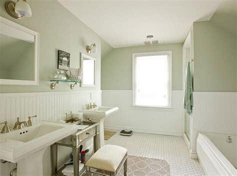 serene bathroom colors serene beadboard bathroom by bathroom remodel