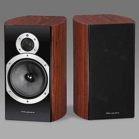 wharfedale 10 1 bookshelf speaker rosewood