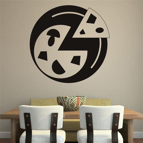 Wall Stiker Uk 60x90 Wall Sticker Dinding 2 Ikan Duyung Stiker Dinding pizza wall food cafe wall decal wall stickers transfers ebay