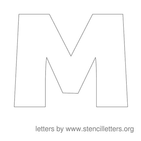 printable letters template best 25 large letter stencils ideas on