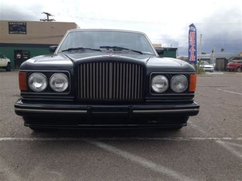 bentley turbo r custom find used 1990 bentley turbo r exceptional luxury sedan