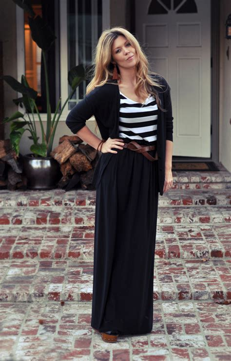 in a slimline design 7 sophisticated ways to wear maxi