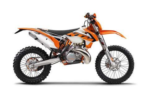 125cc Ktm Dirt Bike No Two Stroke 125cc Enduros From Ktm Husqvarna For 2017