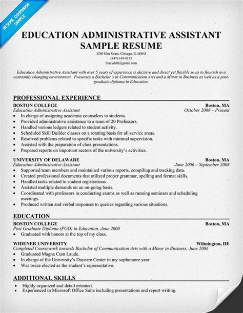 project administrator resume samples visualcv resume samples database