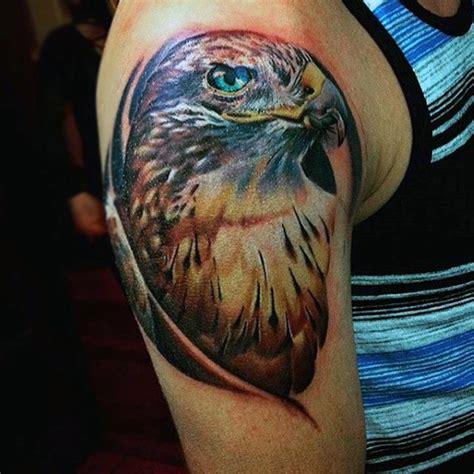 100 hawk tattoo designs for men masculine bird ink ideas
