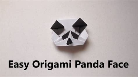 Origami Panda Easy - easy origami panda easy origami for beginners