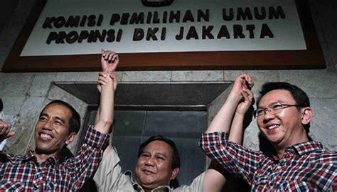 ahok prabowo gerindra prepares jokowi for 2019 presidential candidate