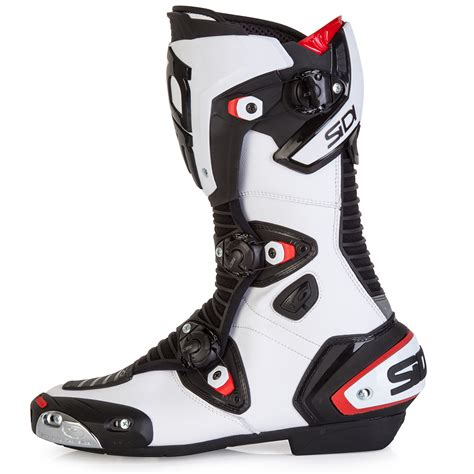 sidi boots sidi mag 1 boots black white free uk delivery