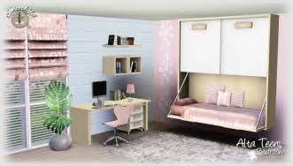 Teen Bedroom Sets Empire Sims 3 Alta Teen Bedroom Set By Simcredible Free
