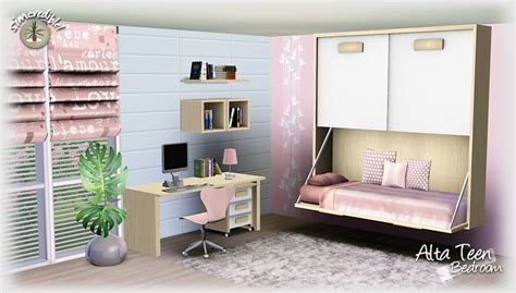 sims 3 bedroom designs empire sims 3 alta teen bedroom set by simcredible free