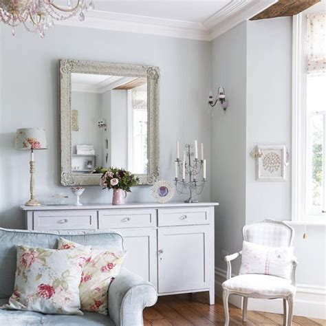 country mirrors living room vintage country living room pastel colours housetohome