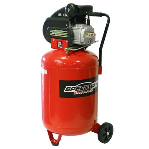 speedway 20 gal 2 hp vertical air compressor shop your