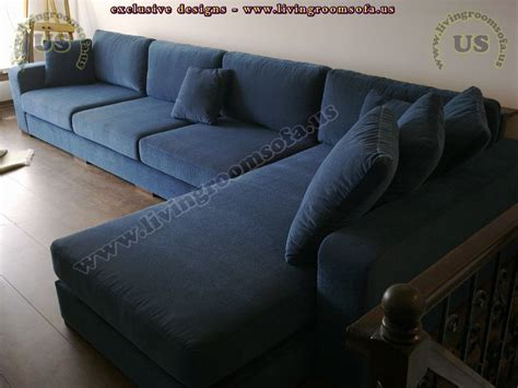 navy blue sectional sofa modern navy blue sectional sofa l shaped design