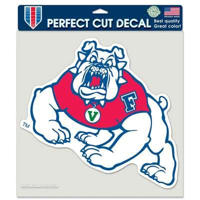 fresno state colors fresno state bulldogs color die cut decal 8 quot x 8 quot