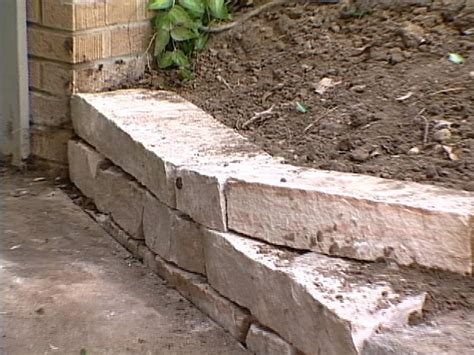 how to build a short retaining wall how tos diy