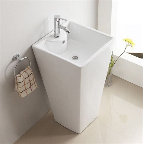 wash basin designs 3006 square shape free standing outdoor hand wash basin