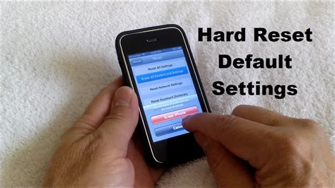 iphone reset master reset iphone 5 5s 5c 4 4s 3 3gs how to reset iphone free easy
