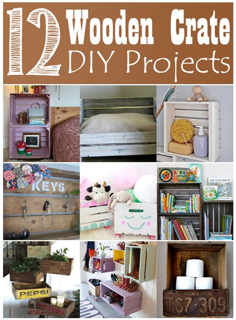 creative ideas for home decor 12 creative ideas to recycle wooden crates for diy home