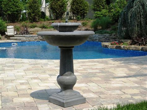 backyard fountains lowes lowe s solar water fountains bing images