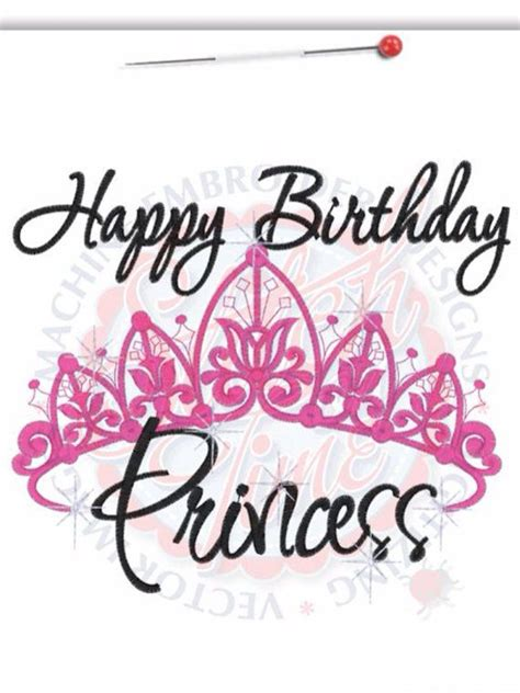 Happy Birthday Wishes Princess Best 20 Happy Birthday Princess Ideas On Pinterest