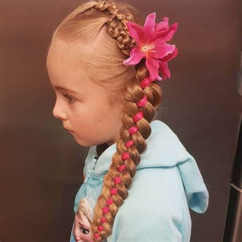 adorable braided hairstyles  girls popular haircuts