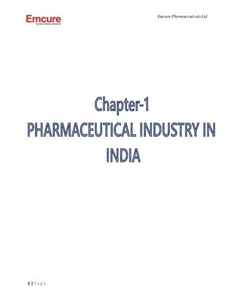 Mba In Pharmaceutical Marketing by Project On Production And Packaging In Pharmaceutical