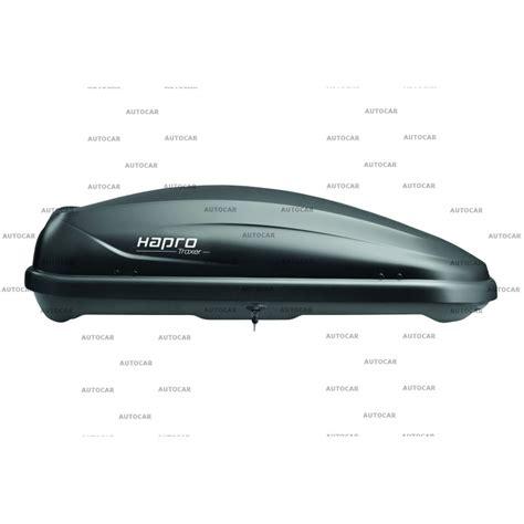 Hapro Traxer 4 6 Silver cutii portbagaj auto cutie box