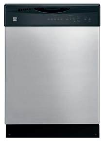Sears Dishwashers Kenmore Kenmore 14028 24 Quot Built In Dishwasher Sears Outlet