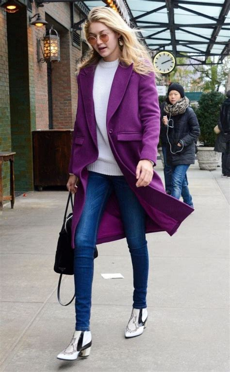 top clorosrist in nyc 2014 gigi hadid street fashion out for lunch in new york city