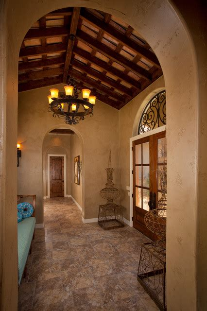 home hall decoration pictures tuscan style home by jim boles custom homes