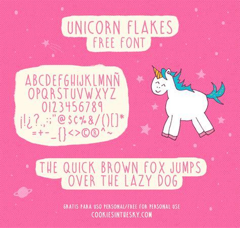 Dafont Unicorn Flakes | unicorn flakes font dafont com