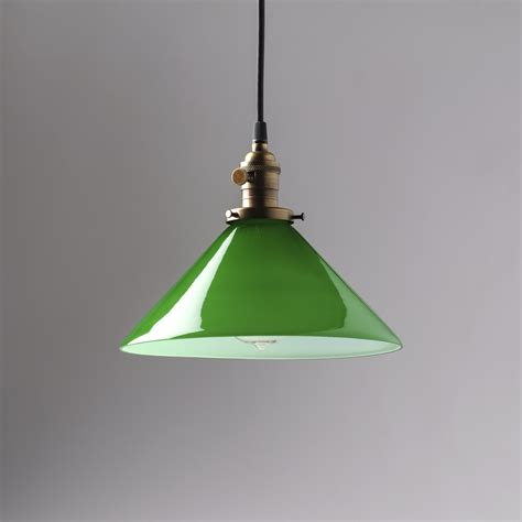green pendant l shade green glass pendant light pixball com