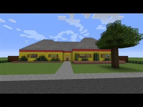 layout of the hill house king of the hill minecraft king of the hill hank hill s house youtube