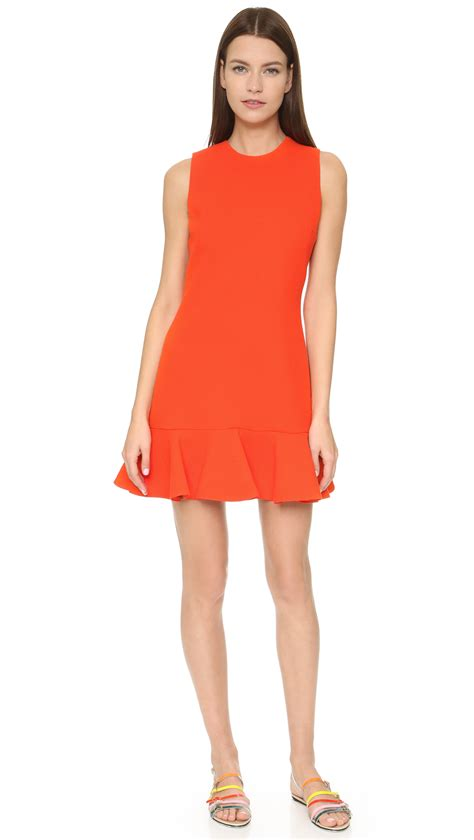 Beckham Dress beckham orange dress fashion dresses