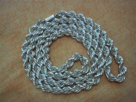 cadena torsal cadena torsal de plata 925 4 980 80 en mercado libre