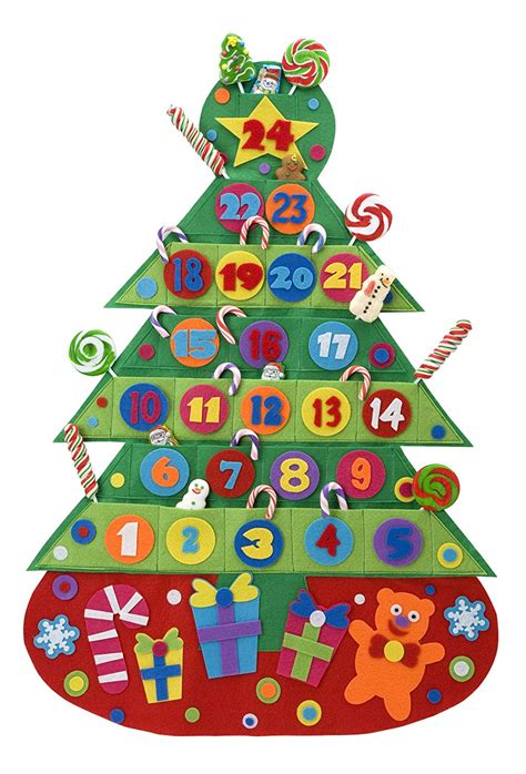 calendar for children to make advent calendar kits for to make or decorate