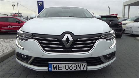 Renault Talisman 2016 1 6 Tce White Pearl Walkaround