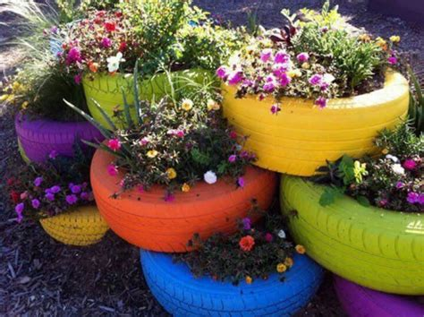 Tire Planter Ideas 301 moved permanently