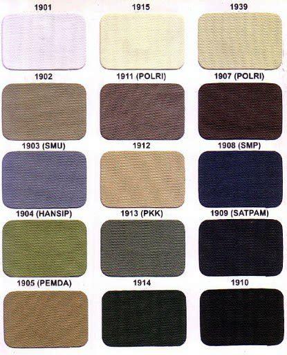 Custom Label Kain Nama Anak Polos Color 2 Size M Pemilihan Warna Untuk Jaket Wearpak Kaos Dan Pakaian