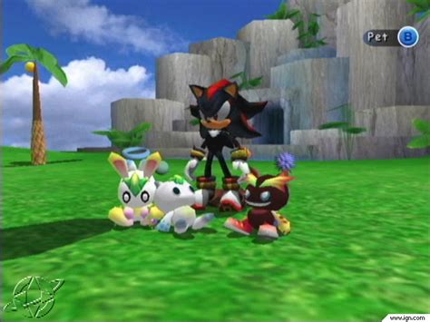 Sonic Chao Garden by Truebluenet Videogames Reviews Sonic Adventure 2
