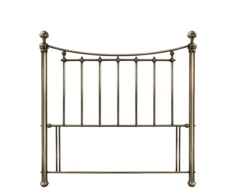 Antique Metal Headboards by Isabelle Antique Brass Metal Headboard