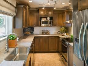 lighting for a small kitchen galley kitchens hgtv
