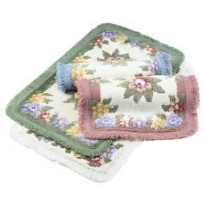 hyde park floral garden bath mat