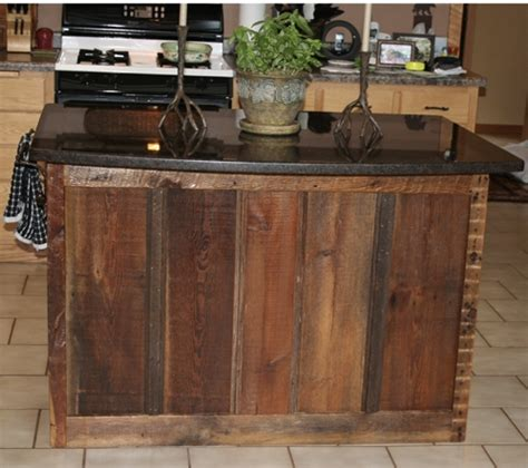reclaimed kitchen islands reclaimed barnwood kitchen cabinets barn wood furniture rustic barnwood and log furniture by