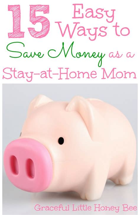 15 easy ways to save money as a stay at home